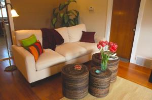 Egyedi tervezésű nappali bútor