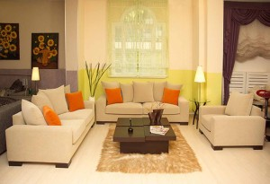 Nappali bútor és színek összhangja