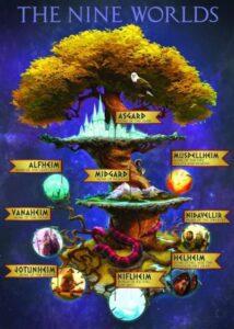 Yggdrasil, a szent kőrisfa